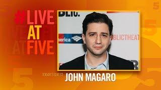 Broadway.com #LiveatFive with John Magaro of ILLYRIA