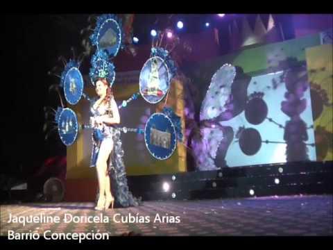 Trajes de Fantasía en la Elección y Coronación de la Reina del Carnaval 2010