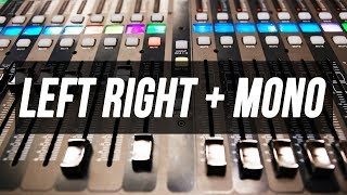 X32/M32 Quick Tip 004: Left Right + Mono Mix