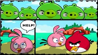 Angry Birds Heroic Rescue Full Game Walkthrough All Levels