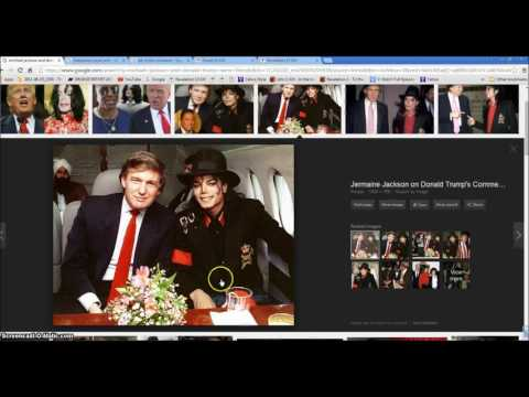 Michael Jackson And Donald Trump  Bible End Times Illuminati Freemason Symbolism