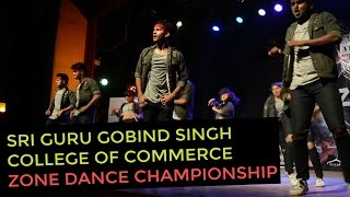 Spectacular Performance by 'Misba' the Western Dance Crew of Sri Guru Gobind Singh College at Zone