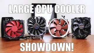 Noctua vs. BeQuiet vs. Cryorig vs. DeepCool