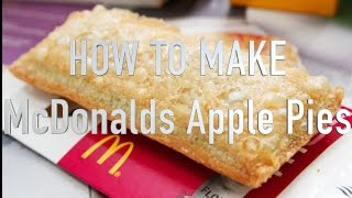 McDonalds Baked & Fried Apple Pie SHORT | HellthyJunkFood