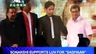 B4U Flash - Love is in the air for Sonakshi!