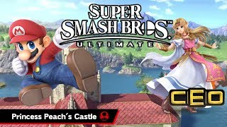 CEO 2018 - Super Smash Bros Ultimate - Peach's Castle (Melee) Gameplay