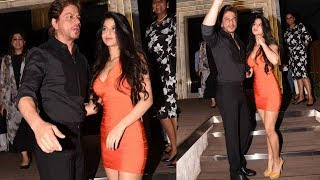 Shahrukh Khan With Stunning Daughter Suhana Khan