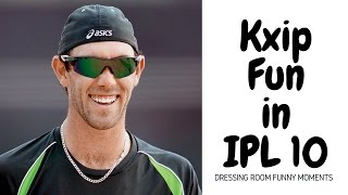 Kings Xi Punjab Funny Live Video in Dressing Room | IPL 10