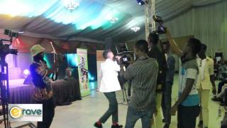 Moments From Dice Ailes' Performance @ City People Entertainment Awards