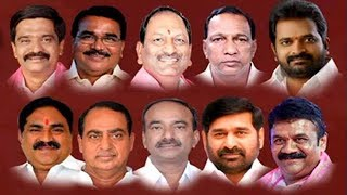 10 Ministers Take Oath in KCR Cabinet | Harish Rao Kept Out | No Woman Minister