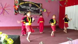 Nepali children dance on Nepali movie song
