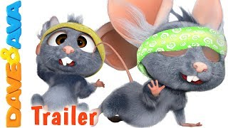 🐾 Three Blind Mice - Trailer | Nursery Rhymes from Dave and Ava 🐾