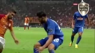 جميع لمسات ضرغام اسماعيل ضد غلطه سراي الدوري التركي الممتاز 17 9 2016