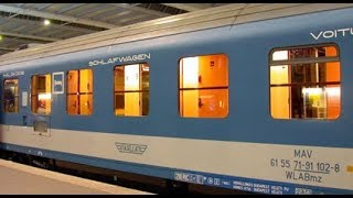 Sleeper Car Experience: Budapest Hungary to Bucharest Romania.