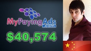 How To Earn Money Sitting At Home - My Paying Ads Easy For Beginners