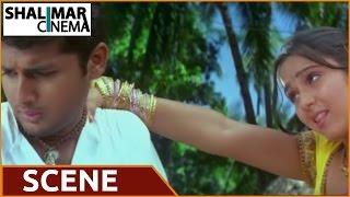 Sri Anjaneyam Movie || Charmi Kaur & Nithin Love Scene