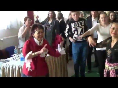 Flashmob Gemu Fa Mire by Students of Hansagi Ferenc Vocational School