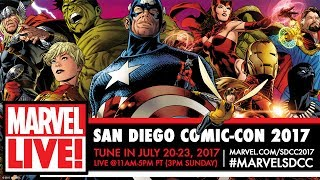 Marvel LIVE! at San Diego Comic-Con 2017 - Day 2