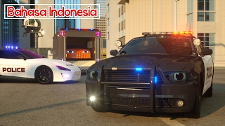 Mobil Polisi Sersan Cooper ( bahasa indonesia ) - Real City Heroes (RCH) - Videos For Children