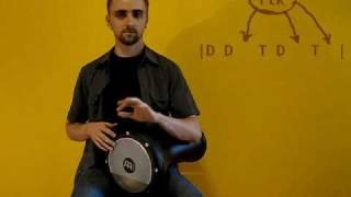 Darbuka Lesson 4 - belledi rhythm [B]
