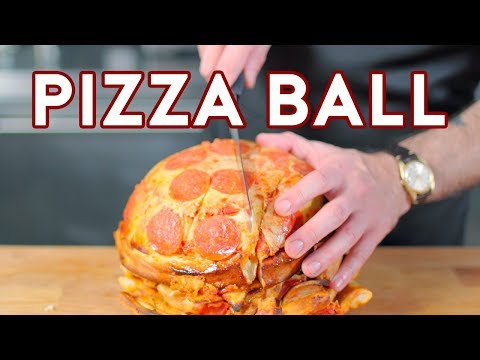 Binging with Babish Pizza Ball from The Eric Andre Show