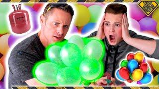 Helium vs. Bunch O Balloons Experiment