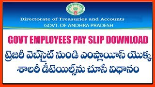 Employees Pay Slip Download
