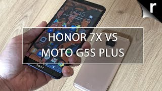 Honor 7X vs Moto G5s Plus: Value-packed Androids