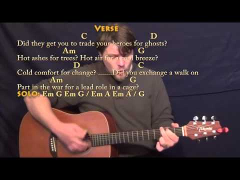 Wish You Were Here (Pink Floyd) Strum Guitar Cover Lesson with ChordsLyrics
