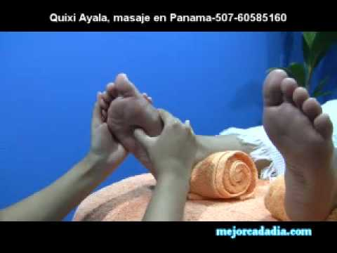 Como hacer masajes de pies Quixy Ayala mejorcadadia