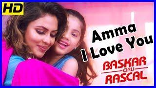 Amma I Love You Song | பாஸ்கர் ஒரு ராஸ்கல் | Master Raghavan reject Baby Nainika