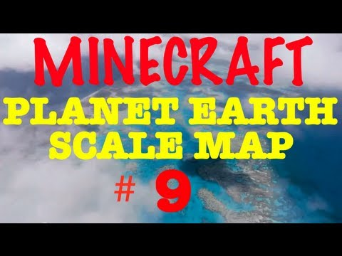 Planet Earth Minecraft Survival - Road to Britain #9 - Alisa Spitzberg