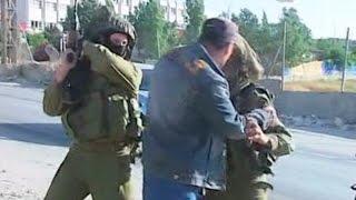 Israeli soldairs filmed beating unarmed palestinian during west bank protest    Palestine TV, Reuter