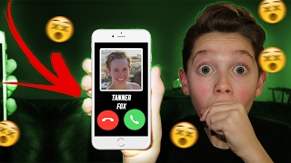 CALLING TANNER FOX! IT ACTUALLY WORKED! *HE ANSWERED*