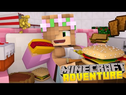 Minecraft - Little Kelly Adventures : LITTLE KELLY GETS FAT!