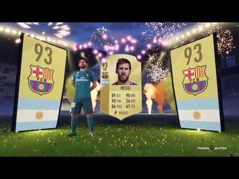 Xxx Mp4 FIFA 18 Ultimate Team MESSI Aparece No Telão PACK De 50mil Coins 3gp Sex