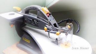 Ремонт лобзикового верстату Titan TTB545SSW 240W - Titan Scroll saw repair