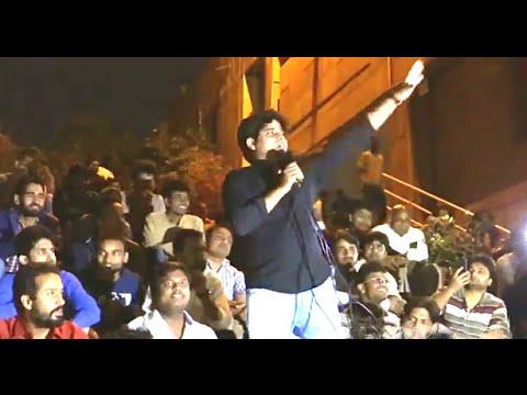 Imran Pratapgarhi eve JNU Mushaira vibrant attack PM Modi & BJP shayari 12 March Full video