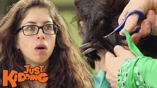 Boys Force Haircut On Pretty Girl PRANK
