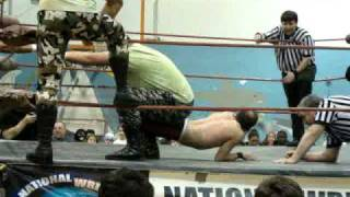 DeManto Oceans J. Young w/ Brittney Savage vs Greg Valentine M. Pacificia Jimmy Storm