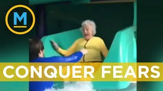 93-year-old women conquers fear of water | Your Morning