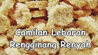 Camilan Lebaran Rengginang Homemade Renyah Praktis
