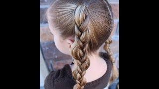 How to do a Uneven 3 Strand Braid {Pulled Braid}  Pretty Hair is Fun