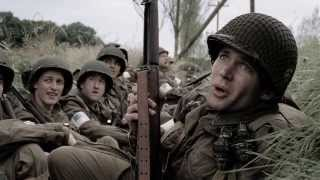 Band of Brothers - Market Garden - A-20 Havoc flyby