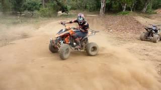 Quad fun in Thailand, near Chiang Mai