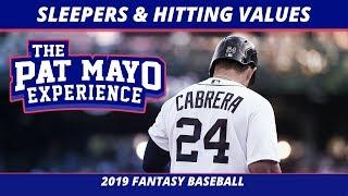 2019 Fantasy Baseball Sleepers - Hitting Values & Draft Strategy