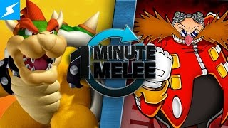 One Minute Melee - Bowser vs Dr. Eggman (Nintendo vs SEGA)