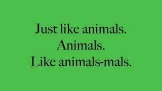 Animals Maroon 5 Lyrics   YouTube