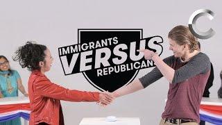 Versus: Immigrants / Republicans Take the US Citizenship Test - Episode 1   Cut