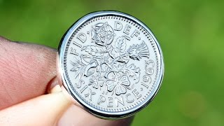 How to make a Sixpence Coin Ring with Bezel Setting filmed in HD